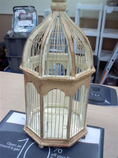 The Evolution of a Birdcage:  From Ordinary to Extraordinary!