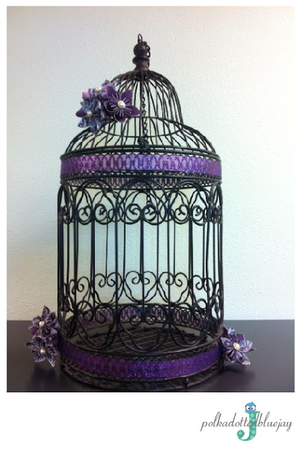 Purple and Pink Birdcages