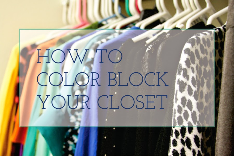 How To Color Block Your Closet