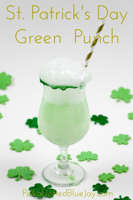 How to Make St. Patrick's Day Green Punch