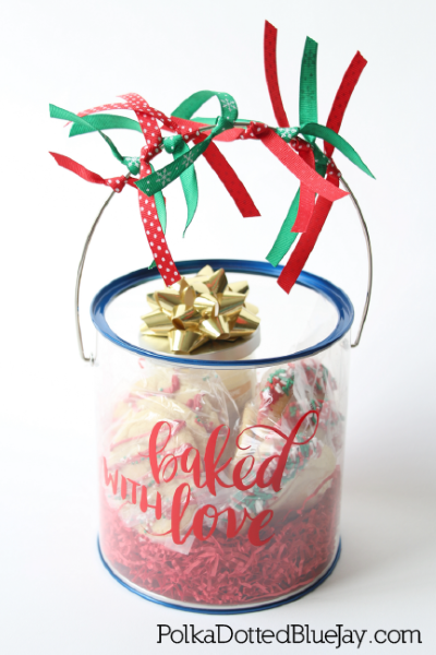 DIY Christmas Bucket