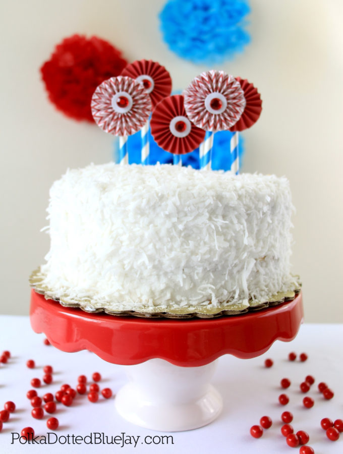 DIY Dr. Seuss Cake Topper