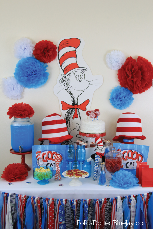 Dr. Seuss and The Cat in the Hat Party