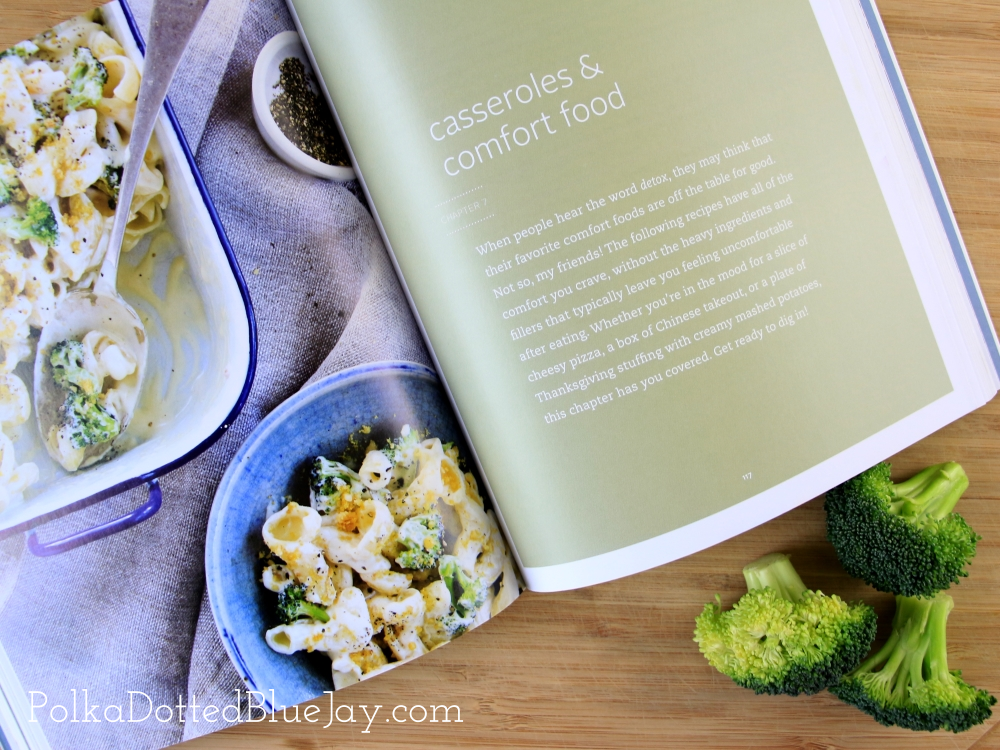 The Everyday Detox Cookbook is full of beautiful photos and delicious recipes. Click here to see my whole review.