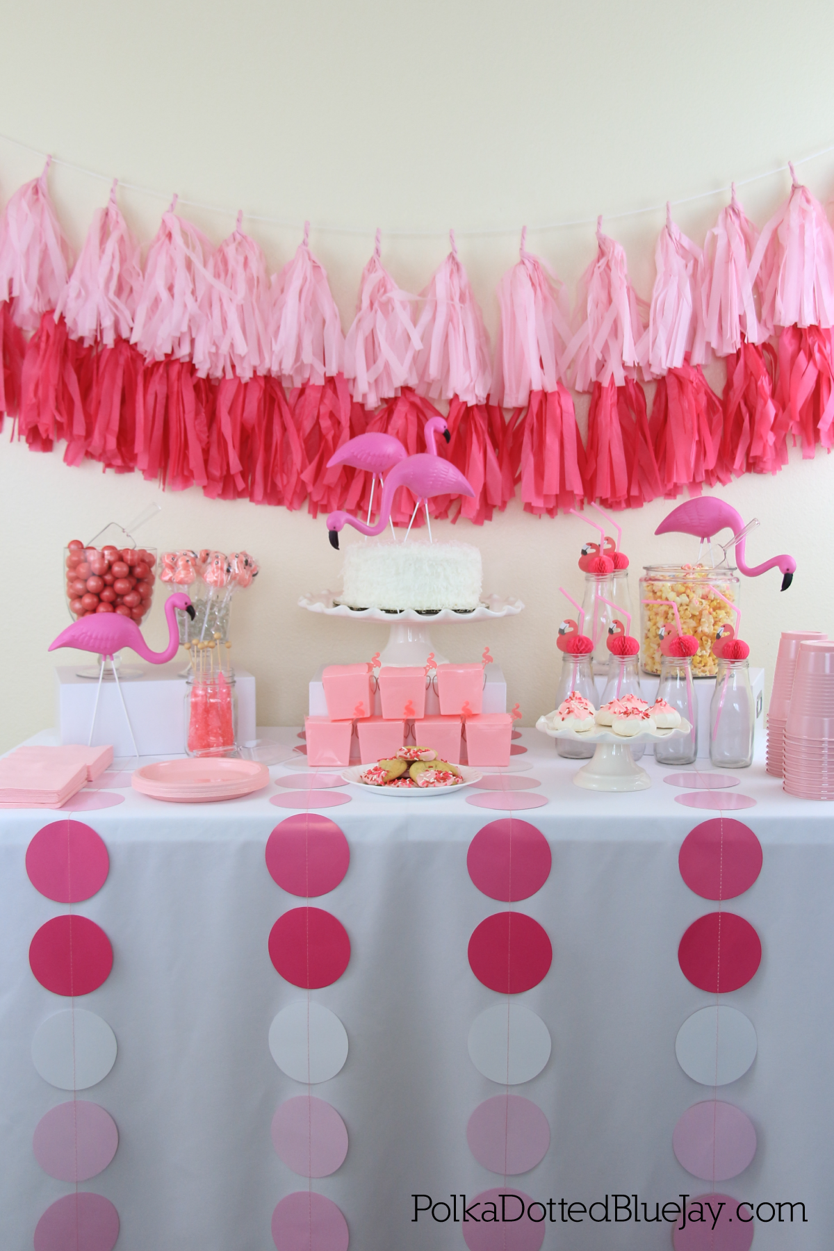 The perfect Pink Flamingo Valentine's Day Party