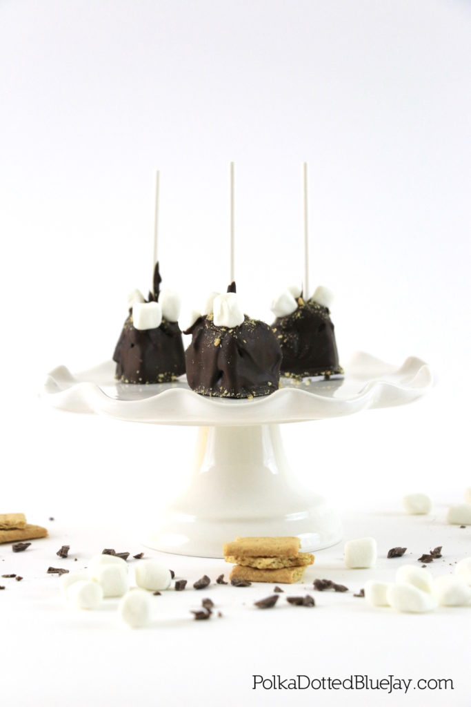 These homemade Chocolate Covered Pie Pops are delicious and easy to make. Click through to see the easy recipe using Edwards Pies. #SameTasteNewLook #CollectiveBias #ad