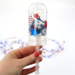 DIY Confetti Poppers are the perfect substitute for fireworks on the 4th of July. Just decorate, fill, and pop!