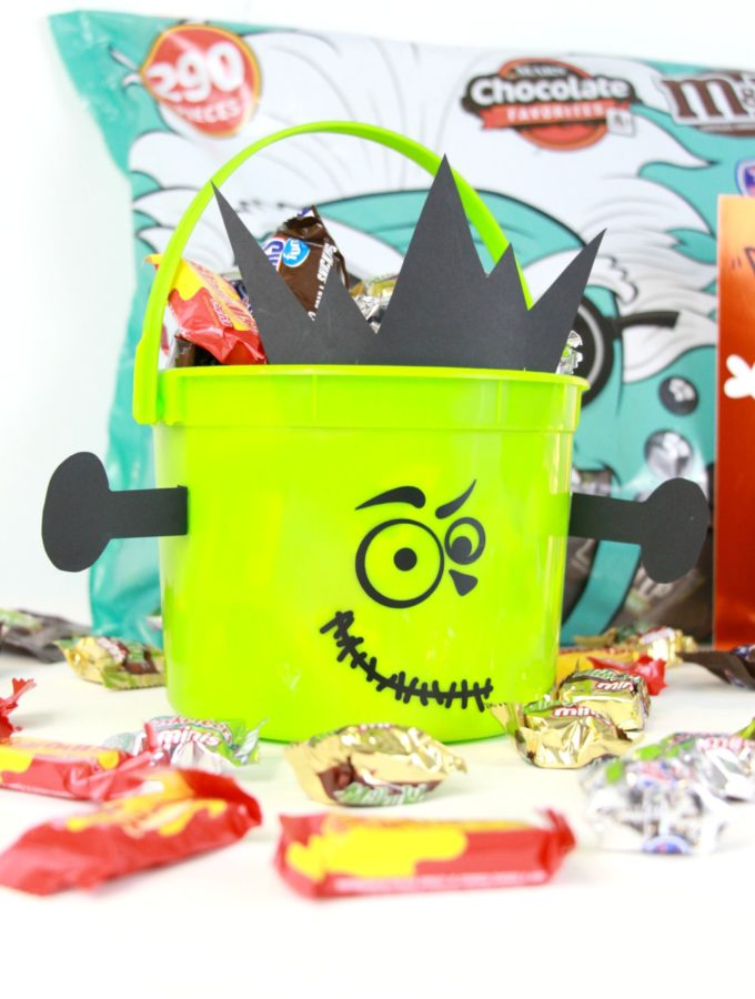 Frankenstein BOO Bucket