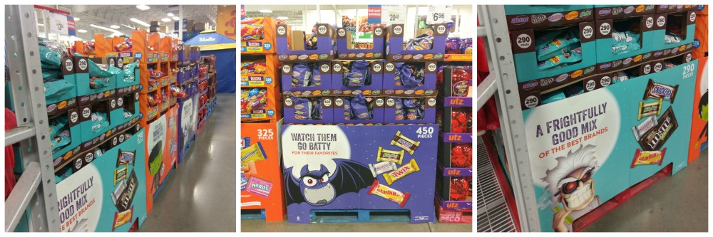 Find all your Halloween candy at Sam's Club and BOO in bulk! #SpookySavings #BOOItForward #CollectiveBias #ad