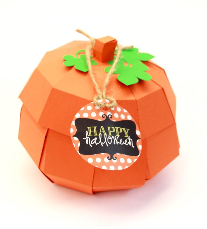 DIY Pumpkin Treat Basket