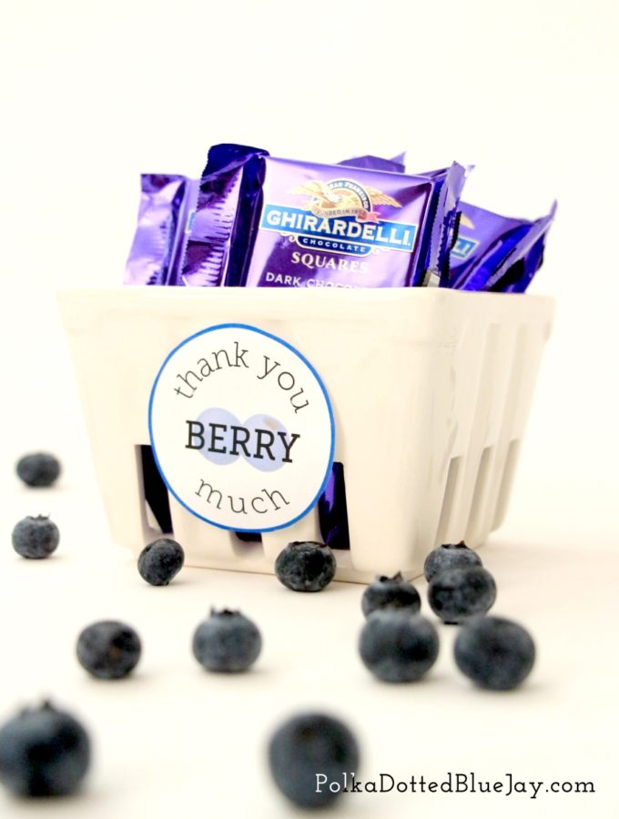 Thank You Berry Much Basket