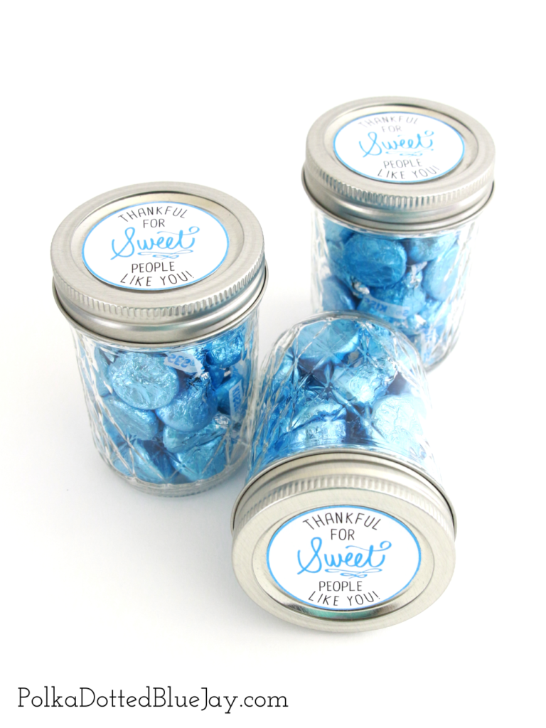 "Labor and delivery nurses are special people and deserve a sweet thank you gift for helping bring your baby into the world. Make these ""Thankful for Sweet People Like You"" jars as part of your hospital bag to give to the sweet nurses who care for you and your new family."