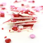 White Chocolate Bark for Valentine's Day