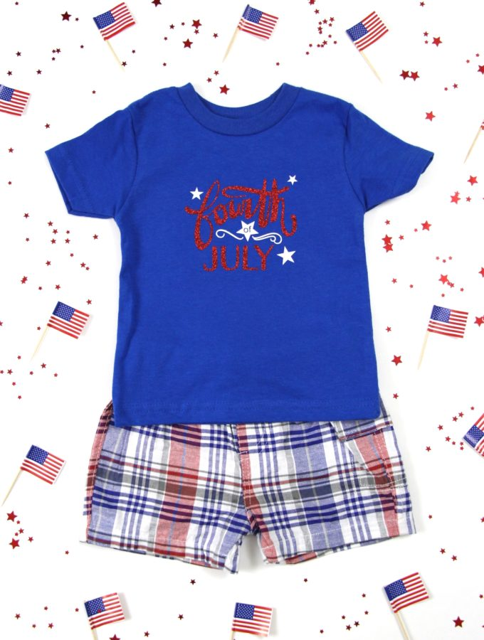 How to Make a DIY 4th of July T-Shirt with Heat Transfer Vinyl